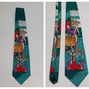 Mickey Unlimited Who Framed Roger Rabbit Mens Tie